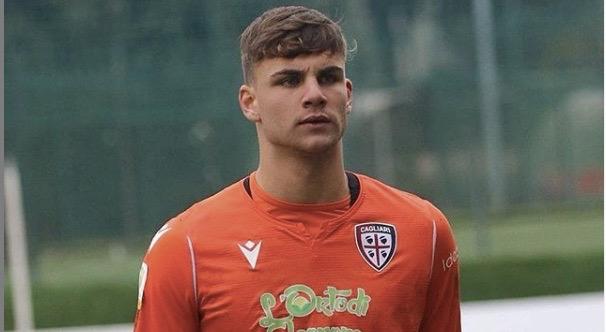 Giuseppe Ciocci, portierino del Cagliari a scuola da Zenga