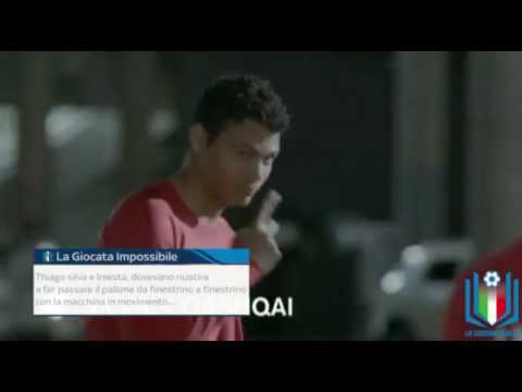 Teaser settima puntata: Annamaria Serturini come Thiago Silva e Iniesta
