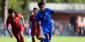 Lazio: doppia promozione per Troise, giocherà in Under 18