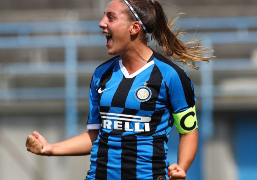 Gloria Marinelli, un bomber per l'Inter Women