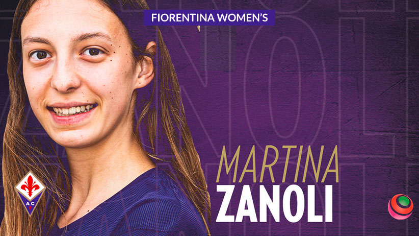 Martina Zanoli, giovane promessa della Fiorentina Femminile
