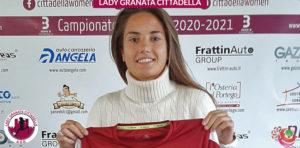 Lorenza Scarpelli, attaccante di razza del Cittadella Women