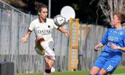 Soffia resta a Roma per sognare la nazionale