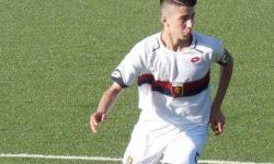 Andrea Palella, giovane centrocampista del Genoa
