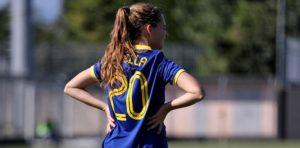 Sara Mella, la neolaureata dell'Hellas Verona Women