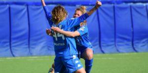 Giorgia Miotto, Un primo gol in A da applausi