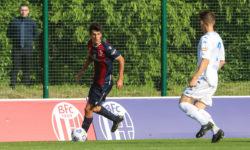 Alex Arnofoli, primo contratto da pro con il Bologna