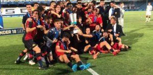 Corci para, Vassallo segna: il Genoa è campione Under 18!